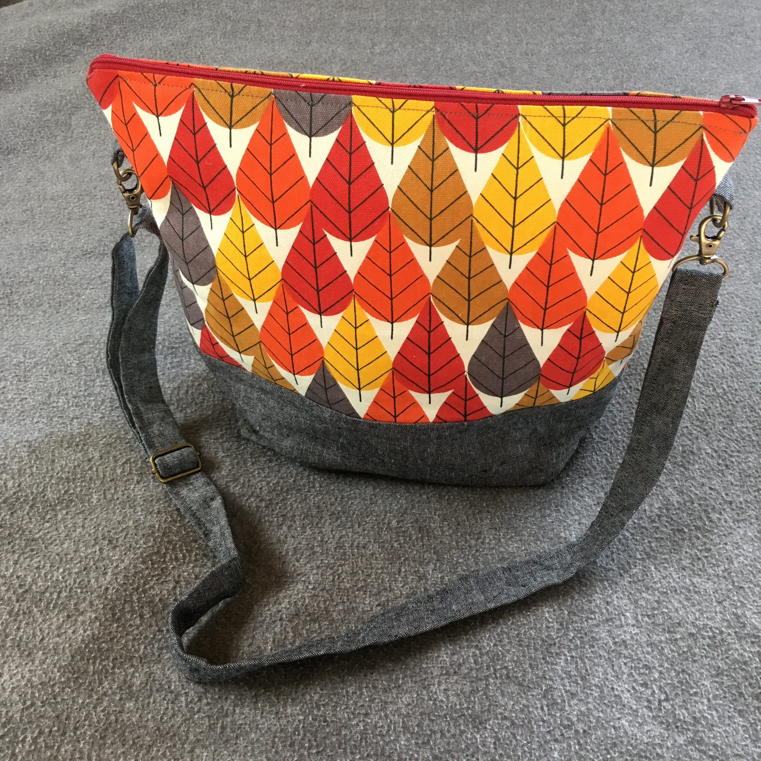 fall leaf purse