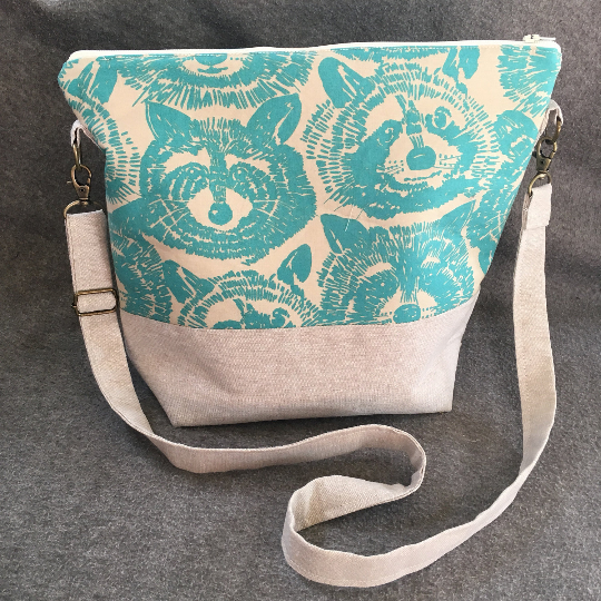 raccoon purse